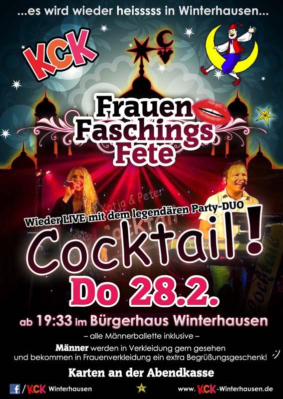 Weiberfasching beim KCK Winterhausen